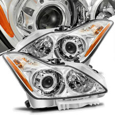 For 2008-2013 Infiniti G37/2014-2015 Q60 Chrome Projector Headlights Replacement