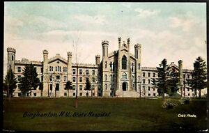 Mental Hospital: Binghamton State Hospital, Binghamton, NY. Pre-1908 Leighton.