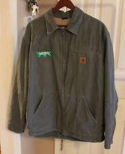 Mens Carhartt Jacket work Coat Green RN 14808 size Large