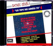 LES TOPS DES ANNEES 70 - CD COMPILATION  [1016]