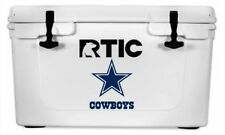 """Dallas Cowboys Decal Sticker For Yeti RTIC Cooler Truck -- 6"""" H"""