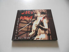 "Warp Drive ""Something to believe in"" rare AOR cd  Boulevard Records 2011"