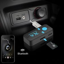Car Bluetooth Music Receiver Aux 3.5mm Adapter Auto KFZ Wireless Audio Empfänger