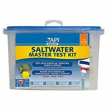 API Saltwater Reef Marine Master Complete Ammonia Test Kit Healthy Fish Aquarium