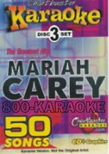 Chartbuster 3 Disc Set Karaoke CD+G #5114 Mariah Carey Best Cary Karoke 50 Songs