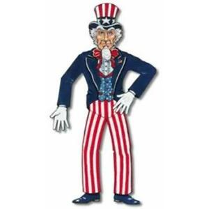 Jointed Uncle Sam Cutout 36 Inch