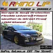 Honda Jazz City Abrio Civic Del Sol CR-Z Rubber Chin Lip Spoiler Splitter Trim