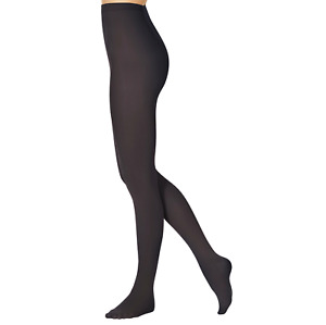 Footed Black dance tights