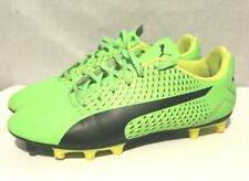 Puma Soccer Cleats - Size 6 - Neon Green