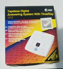 AT&T Tapeless Digital Answering System with Time/Day - 1717