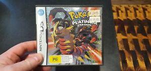 Nintendo ds Pokemon Platinum aus version mint condition
