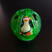 Figurine pingouin DV394 jouet boule sapin Noël MAGIC KINDER FERRERO Italie N5270