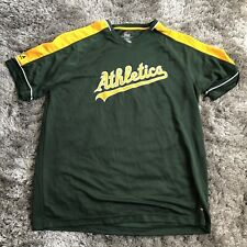 Majestic Oakland Athletics MLB Team Green T-Shirt Size XL