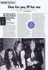 PETER DOGGETT - BEATLES BOOK REVIEWorginal press clipping200921x29cm