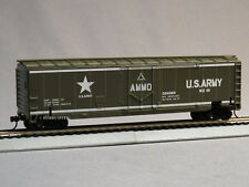 MRC MODEL POWER MISSILE FORCE EXPLODING BOXCAR HO SCALE train US ARMY 1068-B NEW