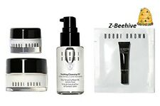 4 pc Bobbi Brown Skincare To Go New in Box Cleansing Oil + Face + Eye Cream +