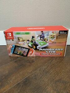 Mario Kart Live Home Circuit - Luigi Set Edition - Nintendo Switch NEW & IN HAND