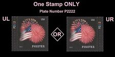 US 4855 Star-Spangled Banner forever plate single P2222 APU MNH 2014