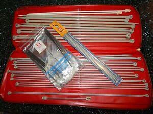 AERO Stricknadel Set mit Aufbewahrungstasche bzw. Mappe