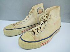 1940's-50's White Basketball Conrad Hi-Top Tennis Shoes Mens 10 Converse Clone