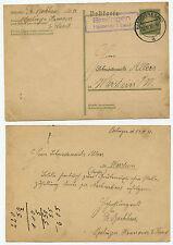32005 - Ganzsache P 199 - Landpoststempel Brelingen Hannover 1 Land, 15.12.1932