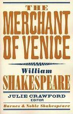The Merchant of Venice (Barnes & Noble Shakespeare) Shakespeare, William Paperb