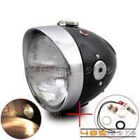 Steel Headlight Scheinwerfer Lampe For Zündapp DB DS DBK KS KS750 Wehrmacht BW40