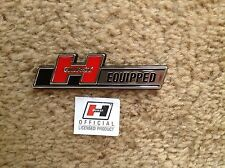 SMALL HURST EQUIPPED EMBLEM - FORD CHEVROLET SALEEN AMC PONTIAC PLYMOUTH DODGE