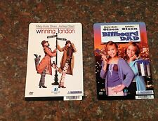 FULL HOUSE dvd Backer cards.. MINI POSTERS MARY-KATE & ASHLEY OSLEN twins!!