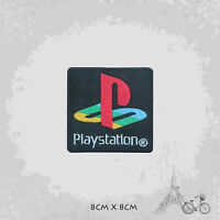 Play Station Game Logo Iron On Patch Sew On Embroidered Patch Badge