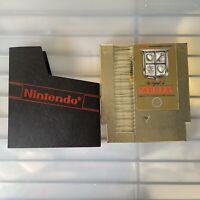 Legend OF ZELDA Nintendo NES Version 5 SCREW GOLD Cart!!