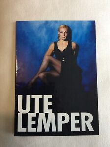 Ute Lemper Concert Programmes. Life's a Swindle (1999) and Naughty Baby (2001).