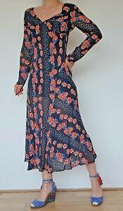 Women's Ex Topshop Maxi Floral Dress RRP £40 - NEW
