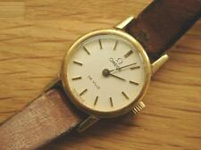 Lovely & Elegant OMEGA DeVille Ladies Gold Plated Wrist Watch