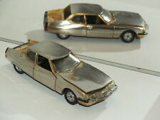RAR Club  NOREV  CITROEN SM DOREE 1971 MADE IN FRANCE Jouet 1/43
