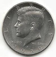 U.S.A. 1/2 Dolar 2020 Kennedy Filadelfia @ Sin Circular @