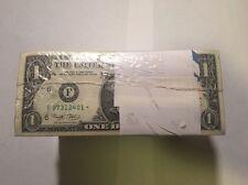 uncirculated BEP 2001  $1 1000 consecutive star notes ATLANTA DISTRICT
