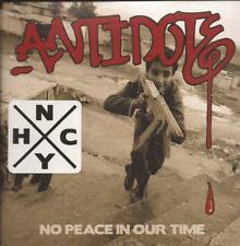 Antidote - No Peace in Our Time ( CD 2013 ) NEW / SEALED