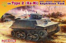 "Dragon 7435 1/72 WWII Japanese Type Two ""Ka-Mi"" Amphibious Tank"