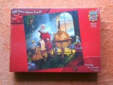Master Pieces Christmas Puzzle Charting the Course  Santa Claus New