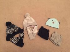 Baby Kids Hats Winter And Matching Mittens Gloves Job Lot Bundle 6-12 Months