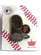 EXTREMELY RARE!!!  San Francisco Giants 2002 WORLD SERIES CHAMPIONS Pin