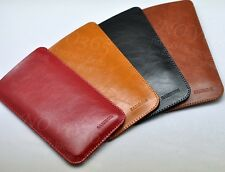 For Samsung Galaxy S8+ Plus Bag Microfiber Leather Sleeve Pouch Phone Case Cover