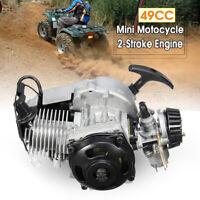 49cc Mini Moto Minimoto Bike Complete RACING ENGINE Pullstart Quad Dirt Dirtbike