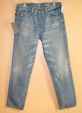 Seven 7 For All Mankind $180 Men's Cooper Skinny Relaxed Jeans Woodstock 31 NWT