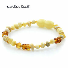 Baltic Amber Bracelet for Kids / Children. 15cm. Limited Edition. LE32