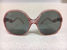 A2 Vintage Sunglasses Retro Collectors Costume Art Scene Rose Pink