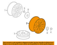 Cadillac GM OEM 13-16 SRX-Wheel-Alloy Aluminum 19300994