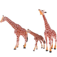 Wildlife Giraffe and Babies – Realistic Hand Painted Toy Figurine Model –