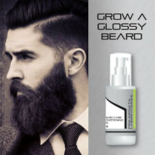 PRO-GROWTH MENS BEARD OIL STOPS ITCHY IRRITATED DRY SKIN GET HEALTHY FACE HAIR
